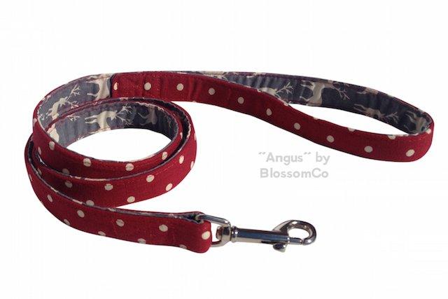Angus Christmas Dog Lead