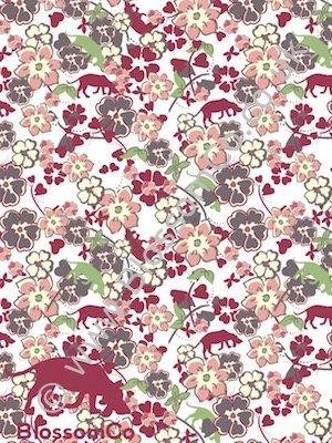 Cream Tea floral design by BlossomCo