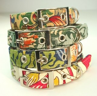 blossomco gift of the year award shortlist for william morris design dog collars and leads