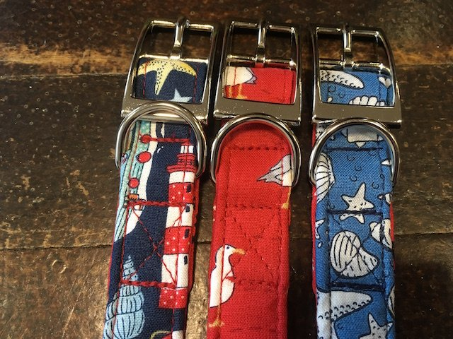 Coastal Style Handmade Dog Collars by BlossomCo